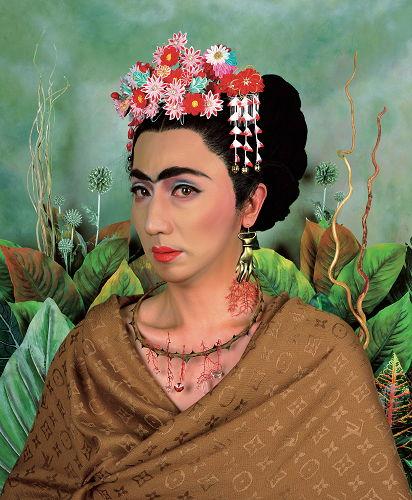 Yasumasa Morimura as Frida Kahlo In true fangirl form I showed up early