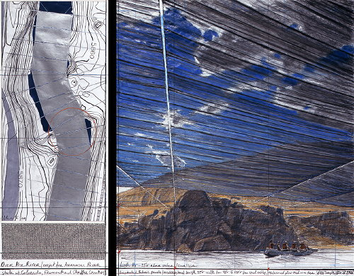 Christo, Over the river