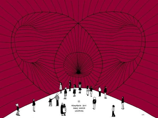 Anish kapoor leviathan monumenta 2011 exporevue magazine art vivant et a - Anish kapoor monumenta 2011 ...