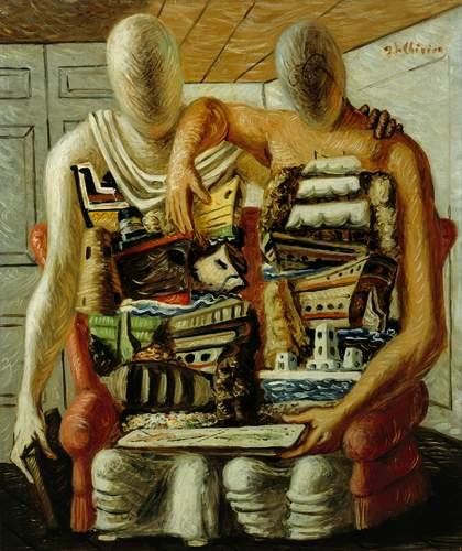 """Assez De Chirico et la peinture italienne de l'entre deux-guerres"""" au  NG04"""