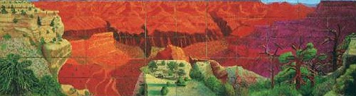 David Hockney, Bigger Grand Canyon